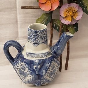 The Canton Collection  Decorative Teapot WO/LID